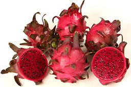 dragon fruit in spanish fruit kabobs